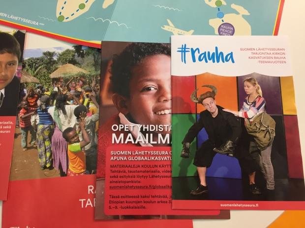 Educa_Suomen Lähetysseuran materiaaleja