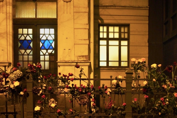 synagogan seinä